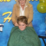 Random image: Zach with Wendy right before Shave