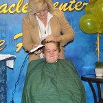 Random image: zach with clippers